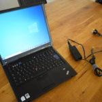 Minimalisiert: Altes Thinkpad Laptop verkauft